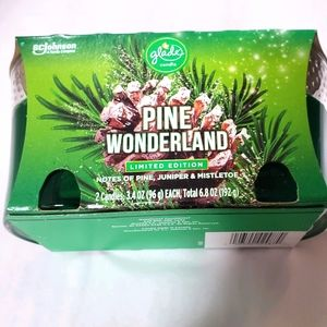 2-Pack Pine Wonderland Candles Air Freshener